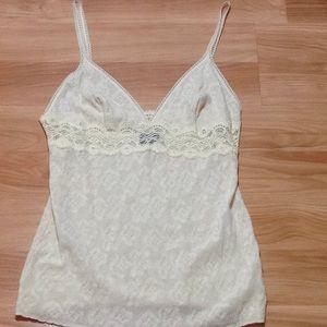 Dolce & Gabbana lace knit tank top/cami